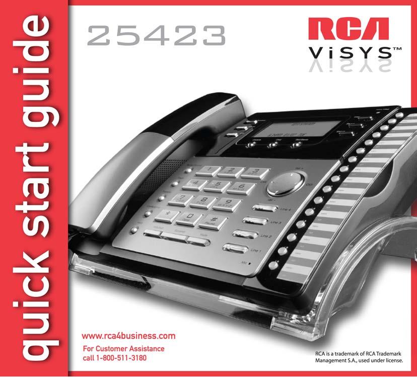 download free pdf for rca 25423re1 telephone manual rh umlib com rca model 25423re1-a manual rca phone model 25423re1 a manual