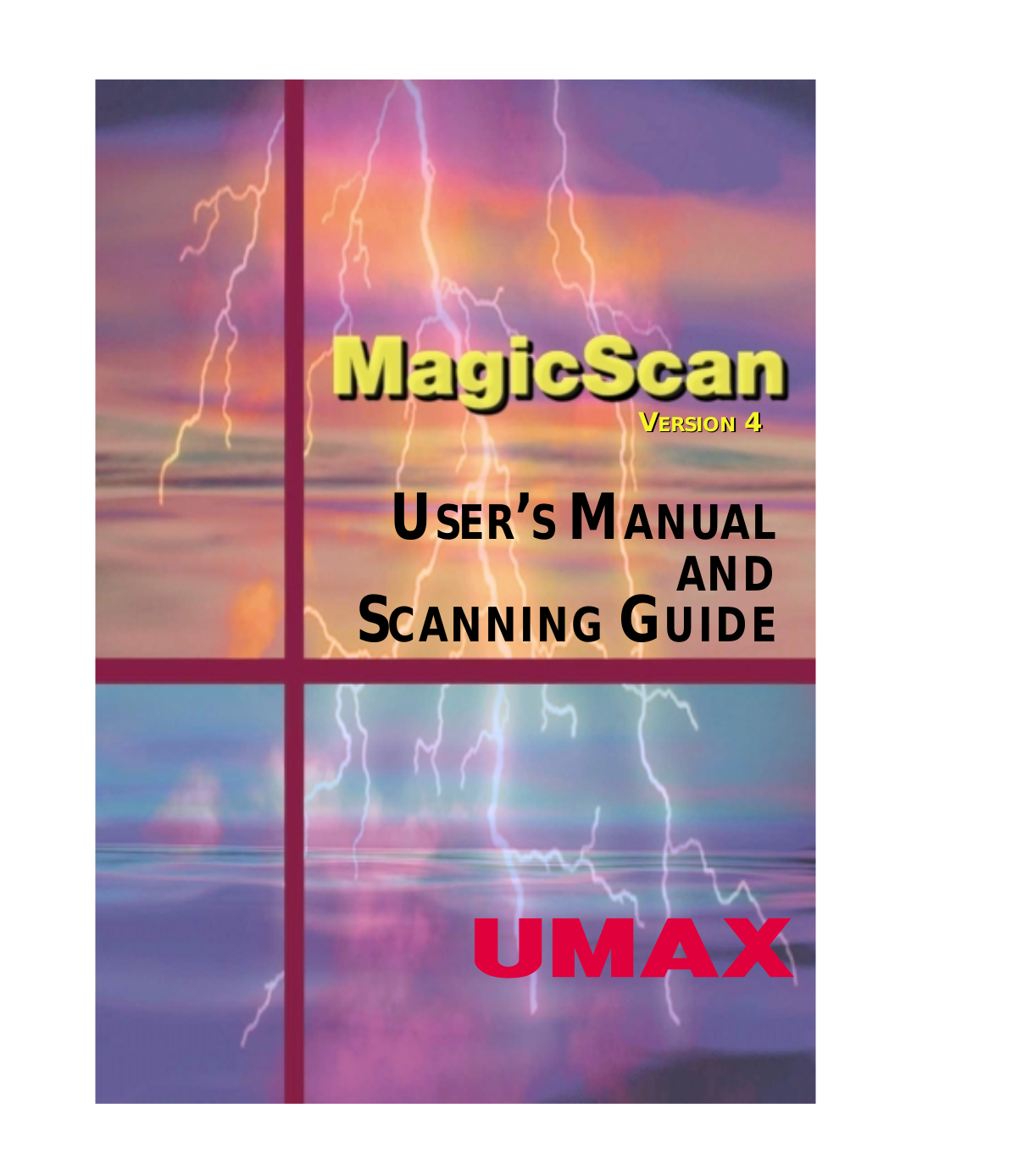 pdf for Umax Scanner 2100U manual