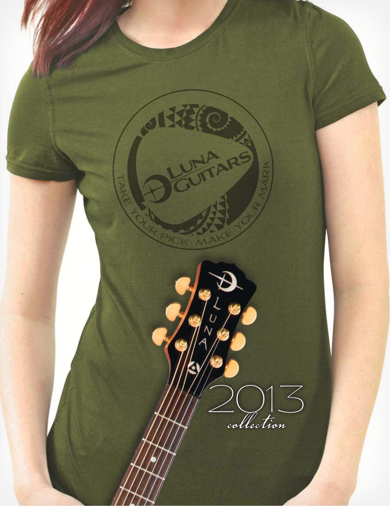 pdf for Luna Guitar Safari Muse Spruce manual