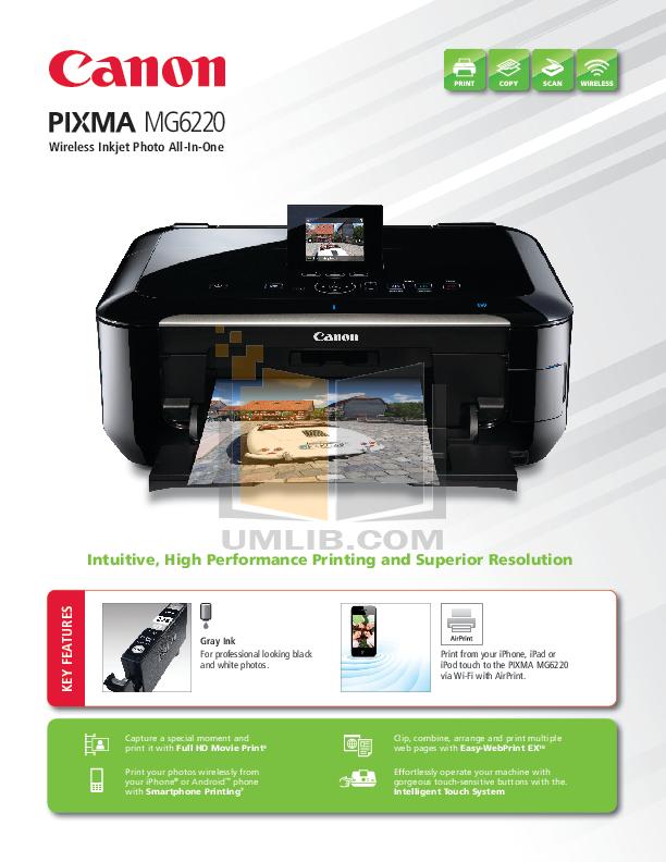 Canon U.S.A., Inc.   Printer User Manual