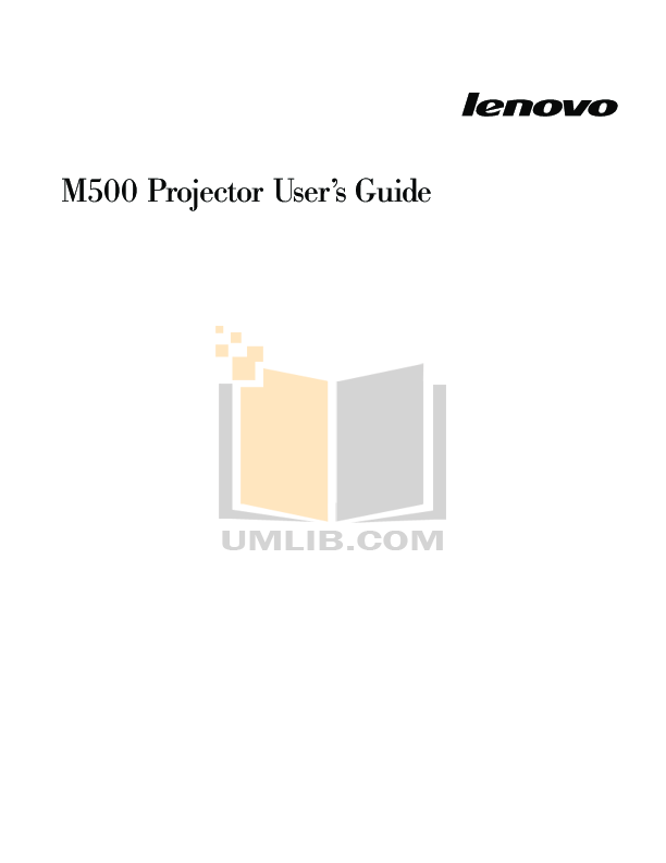 pdf for ETen Cell Phone M500 manual