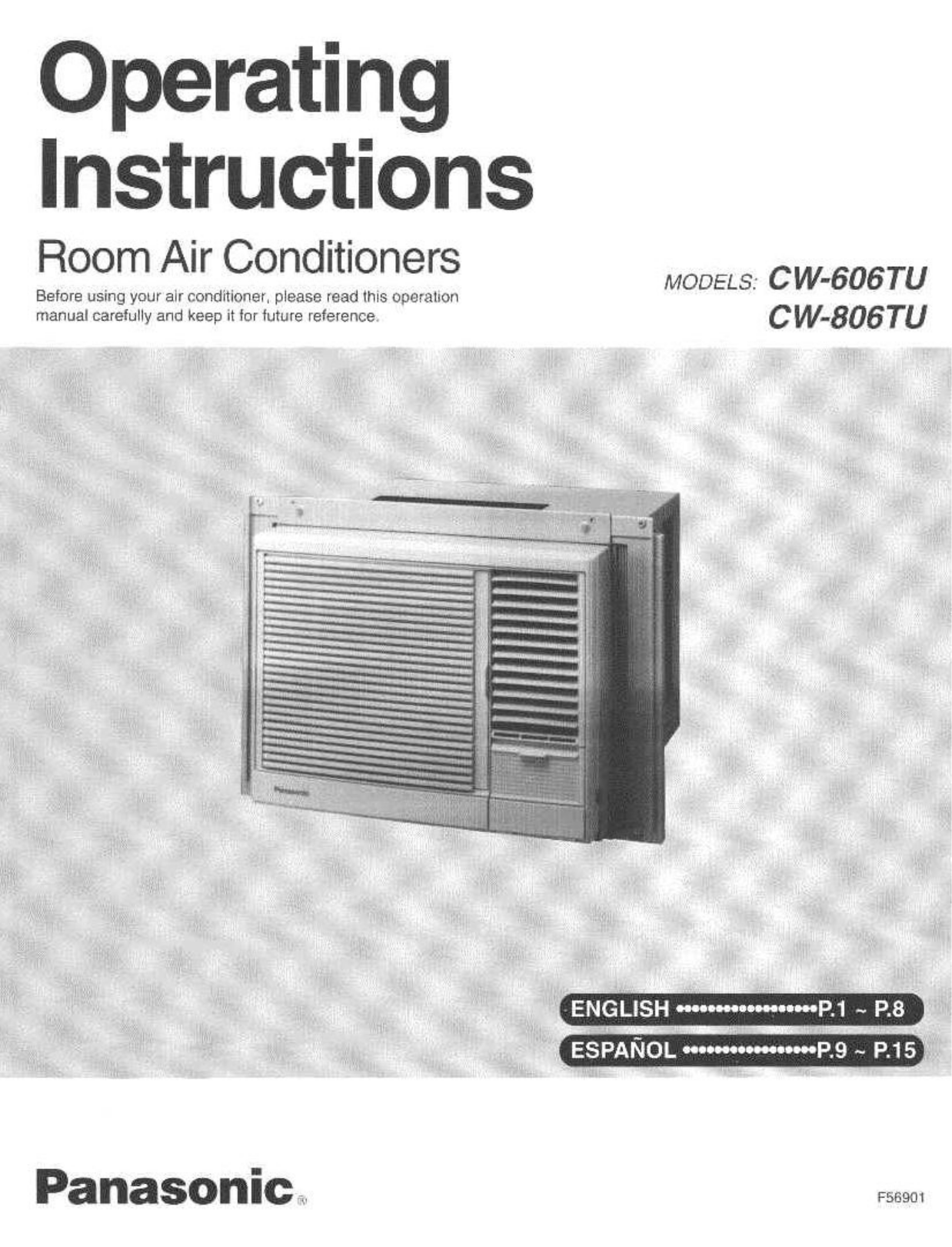 Panasonic Inverter Air Conditioner Installation Manual