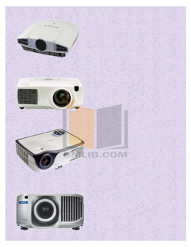 pdf for Epson Projector PowerLite 755c manual