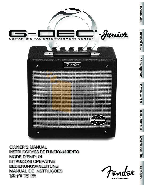 fender acoustasonic jr manual pdf