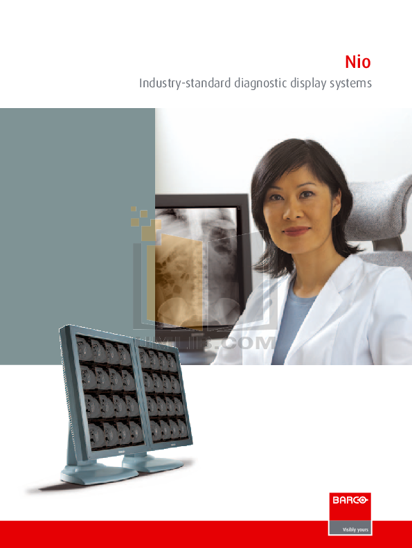 pdf for Barco Monitor Nio 5MP manual