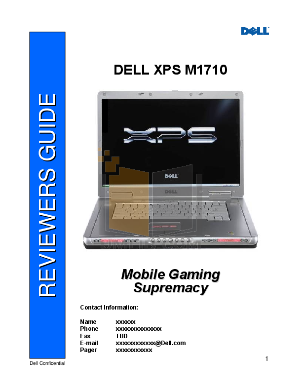 download free pdf for dell xps m1710 laptop manual rh umlib com dell xps m1710 manual pdf dell xps m1710 user manual