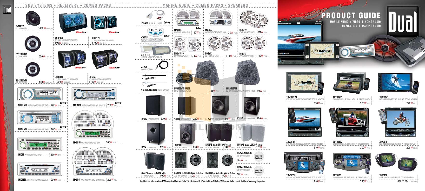 pdf for Dual Speaker LS205EB manual