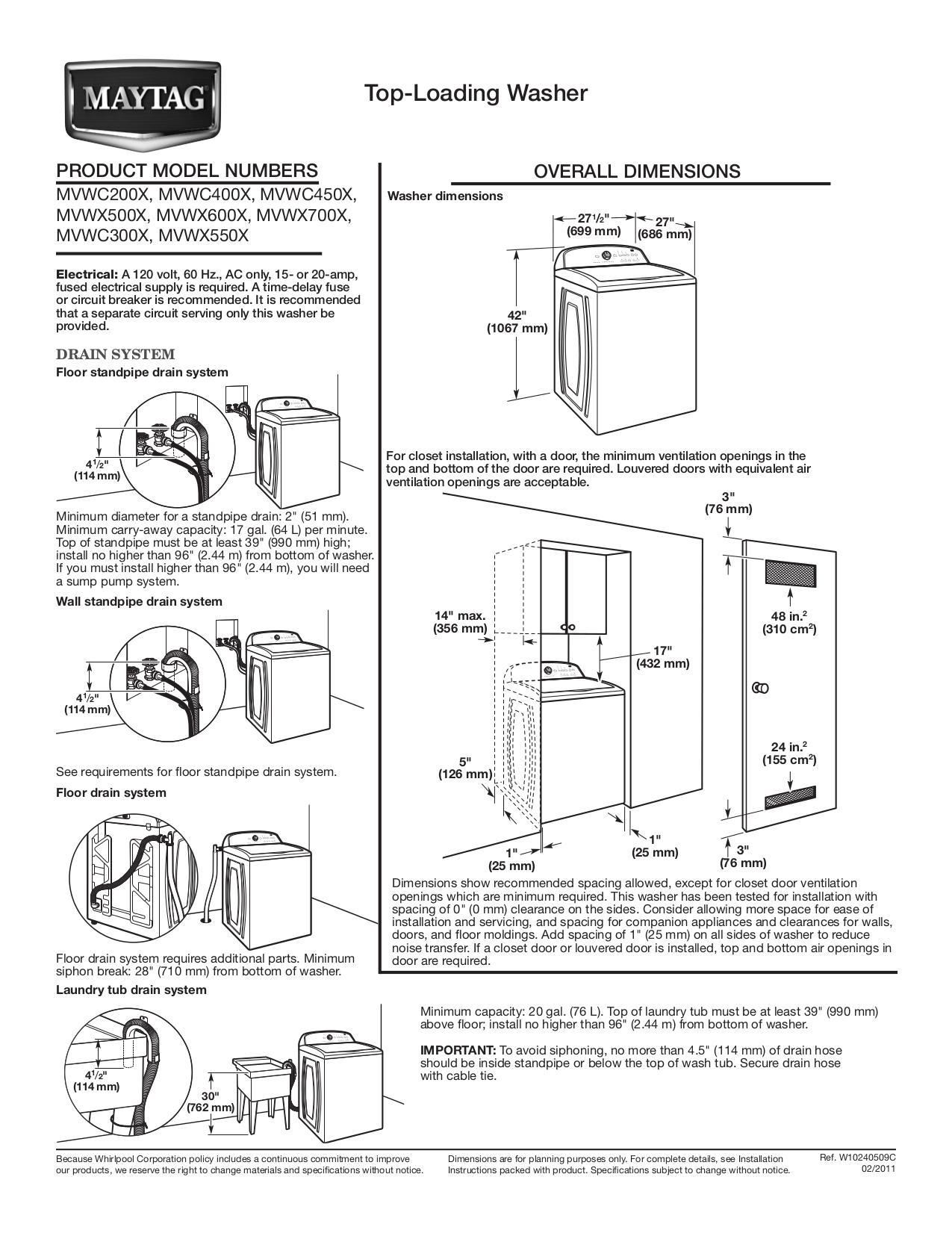 download free pdf for maytag mvwc400xw washer manual rh umlib com manual maytag centennial washer manual maytag neptune washer