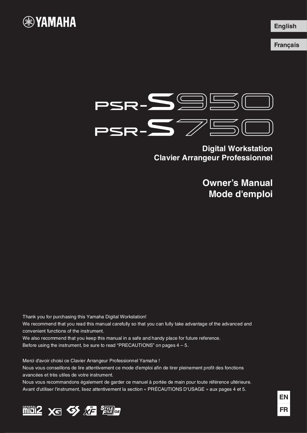pdf for Yamaha Music Keyboard CE-25 manual