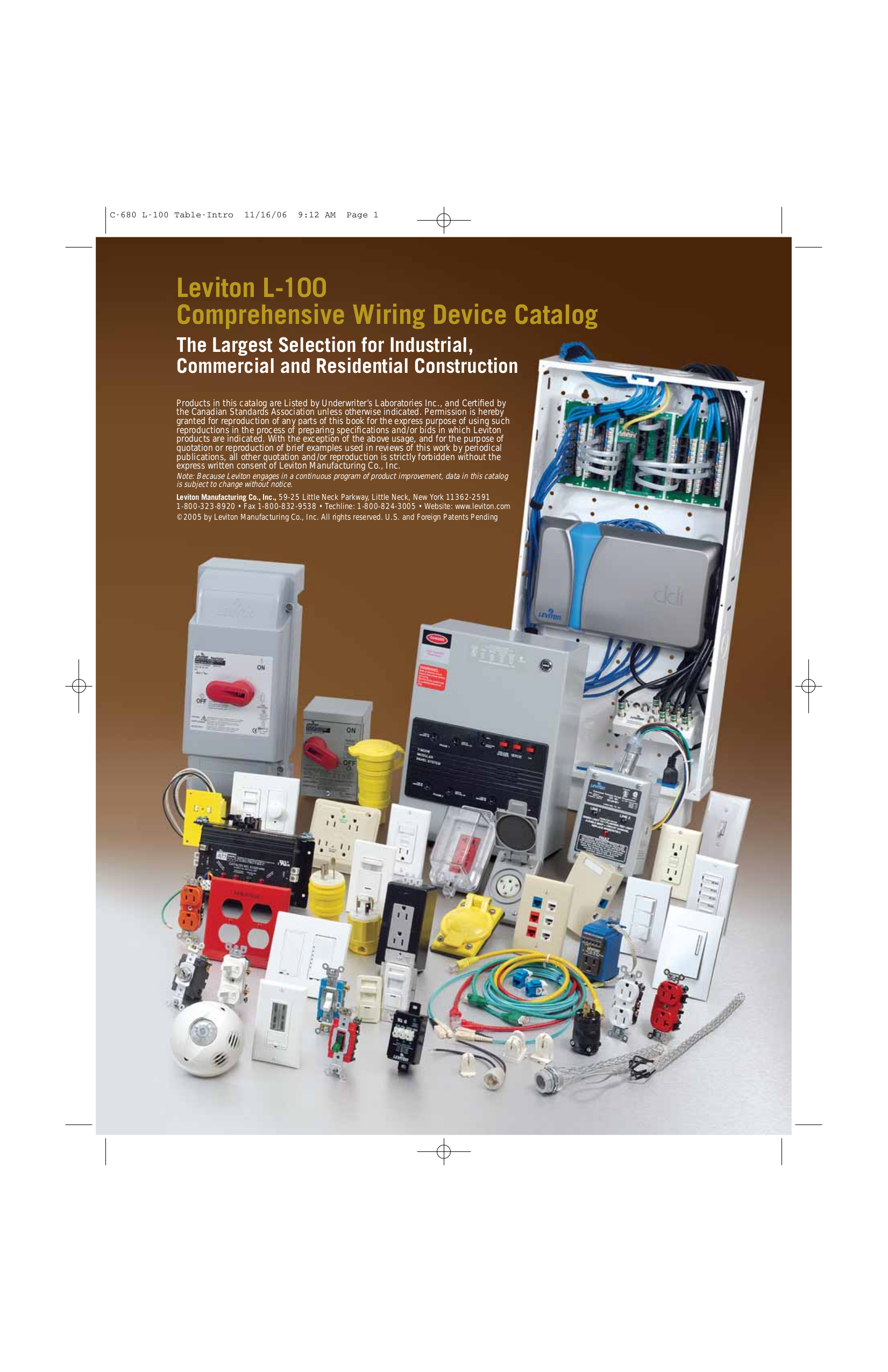 Amazing Leviton Catalog Pdf Gallery - The Best Electrical Circuit ...