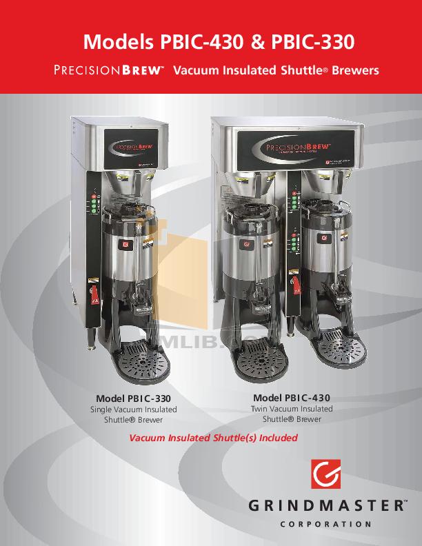 download free pdf for grindmaster vs 1 5s coffee maker manual. Black Bedroom Furniture Sets. Home Design Ideas
