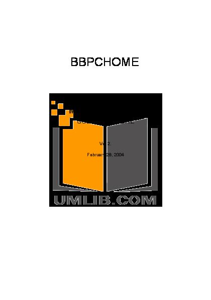 pdf for 4xem Desktop BBPCHOME manual