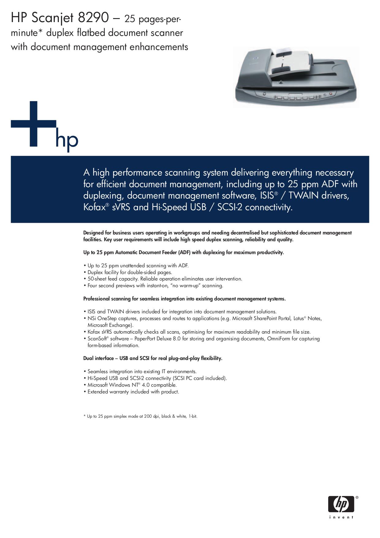 download free pdf for hp scanjet 8290 scanner manual rh umlib com HP Scanjet 5590 hp scanjet 8290 user manual