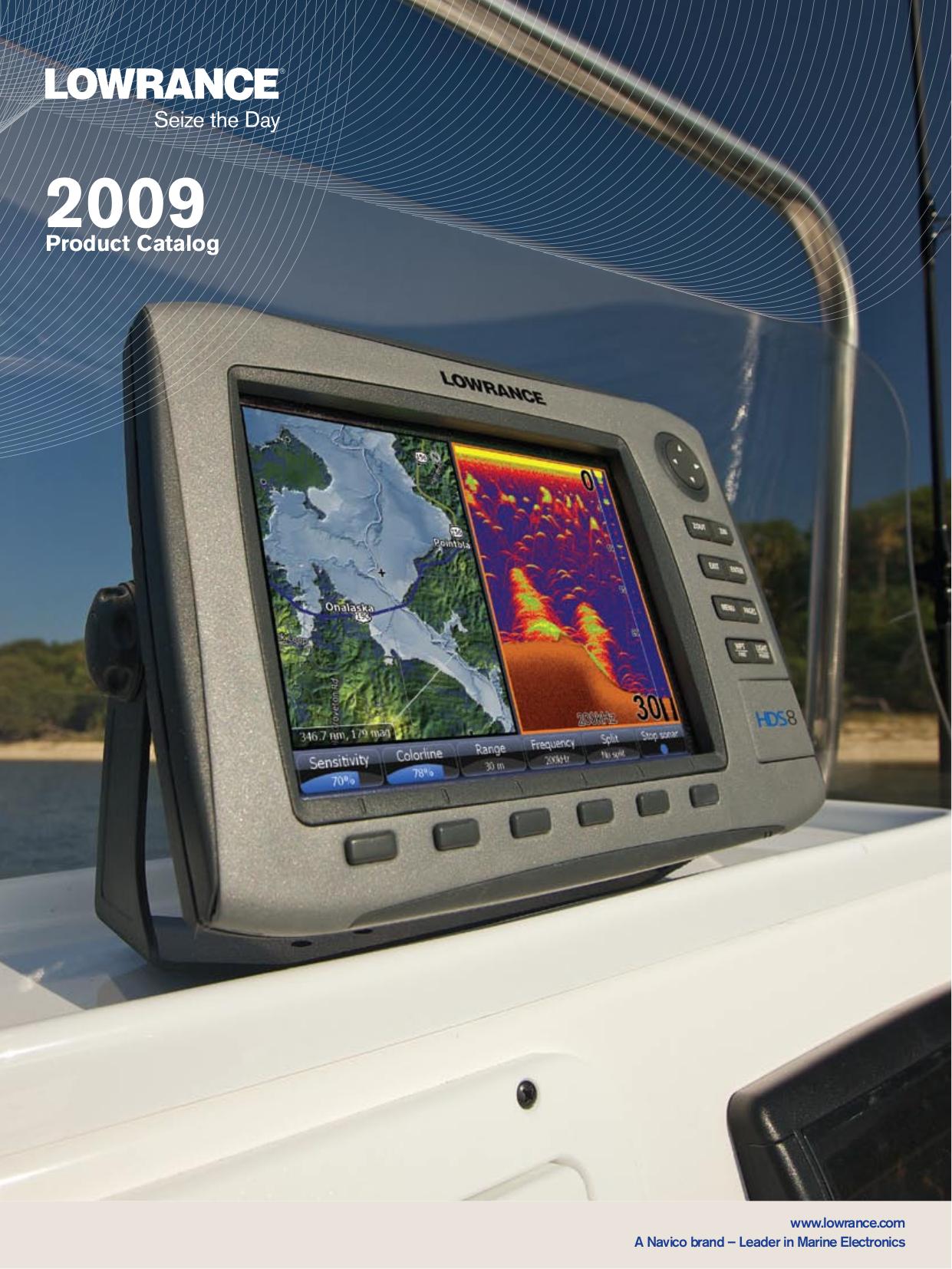 pdf for Lowrance GPS X96 manual