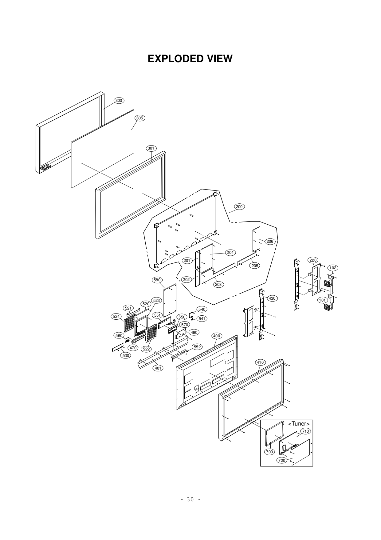 pdf for LG Monitor MU-42PZ44 manual