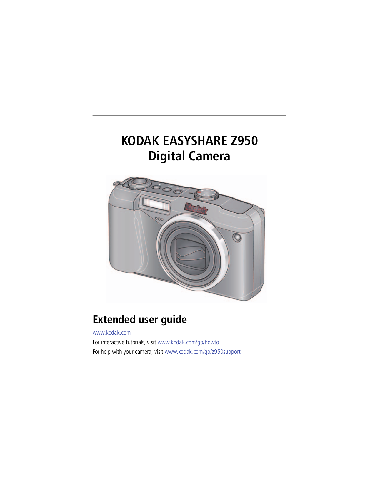 pdf for Kodak Digital Camera EasyShare Z990 manual