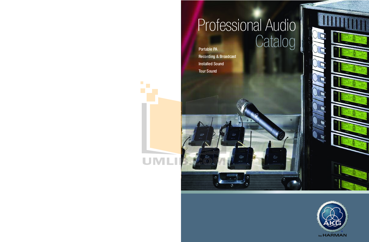 pdf for Crown Other PZM-11LLWR Microphones manual