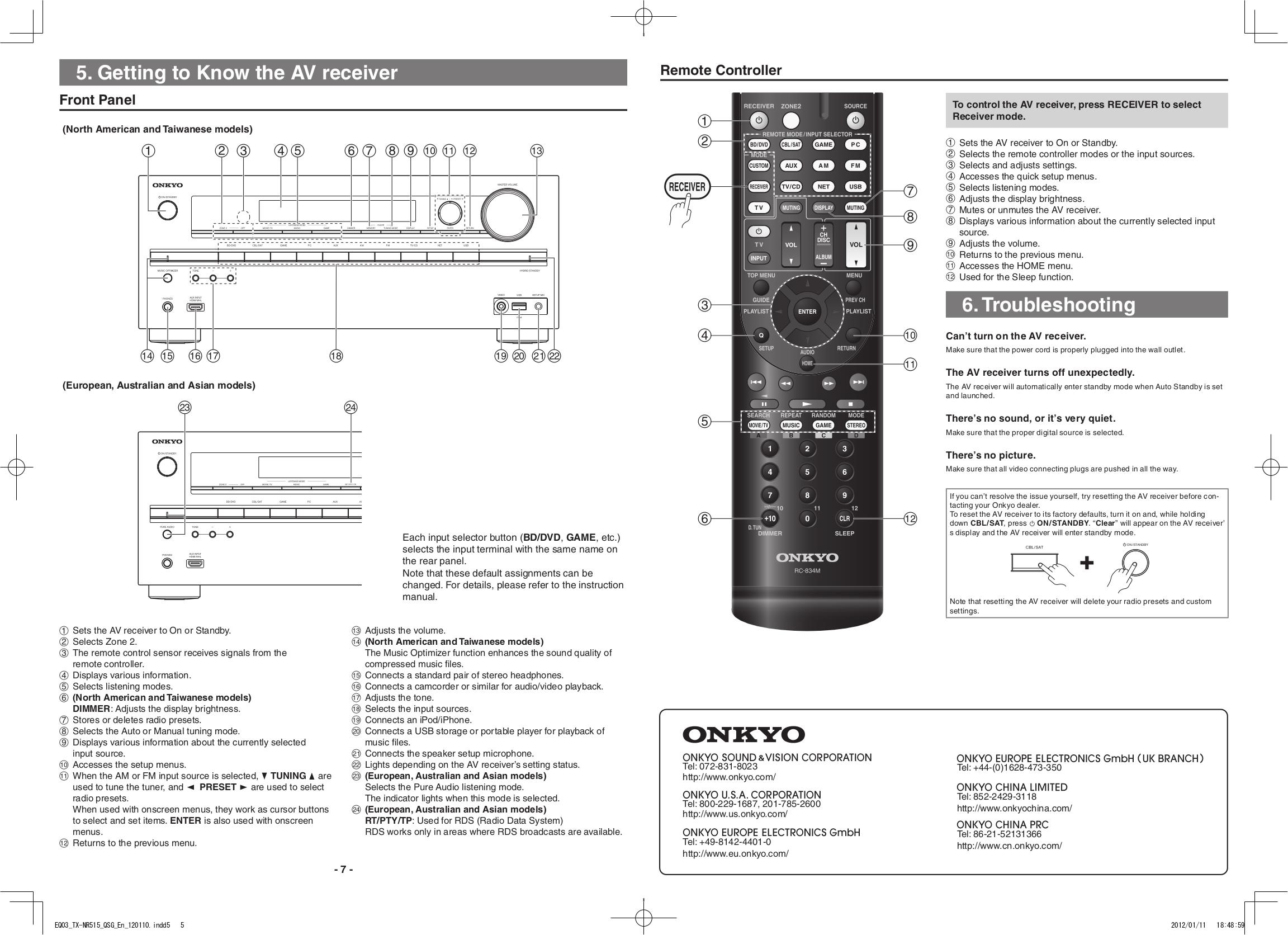 pdf manual for onkyo receiver tx nr515 rh umlib com onkyo tx-nr616 notice onkyo tx-nr616 manual pdf