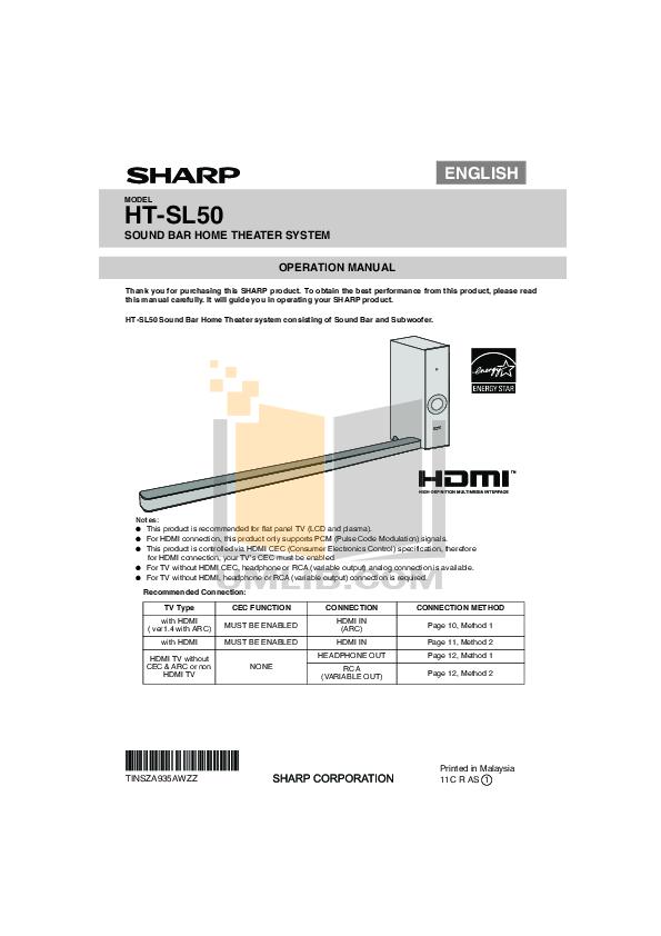 download free pdf for auvi ht50 home theater manual rh umlib com