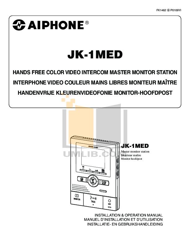 pdf for Aiphone Other NEM Intercoms manual
