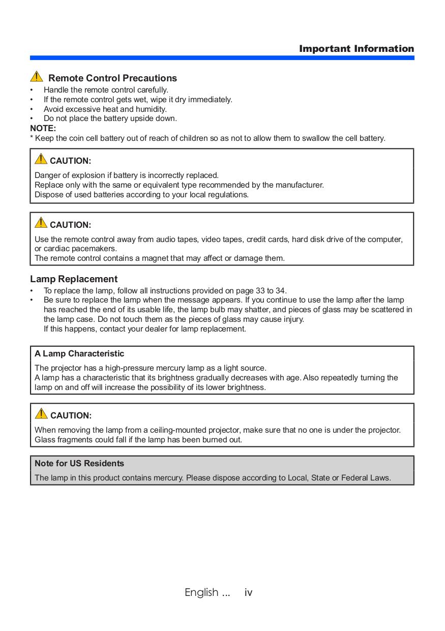 nec np100 manual pdf