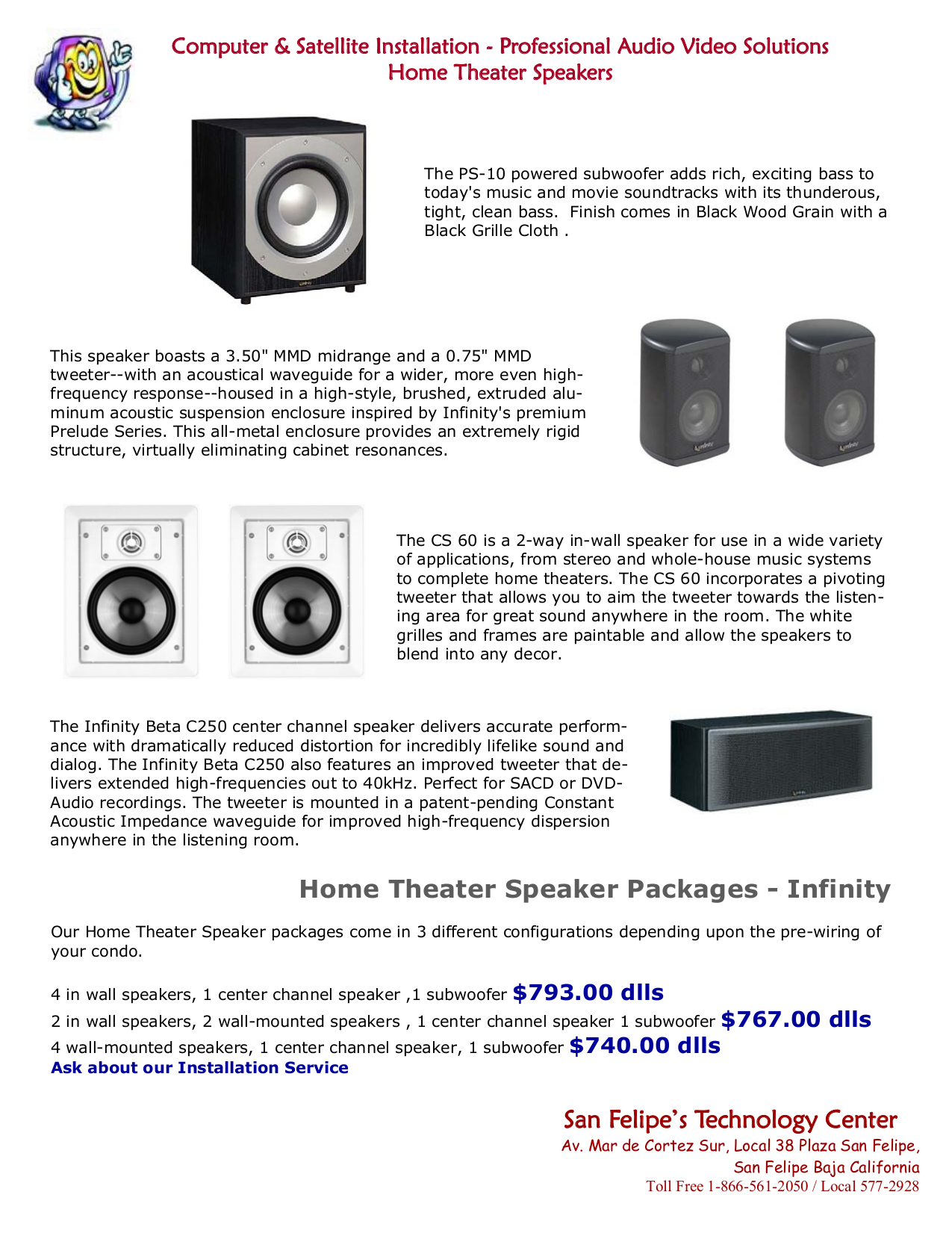 Pdf Manual For Infinity Speaker Beta 50 Pre Wiring House Speakers Page Preview