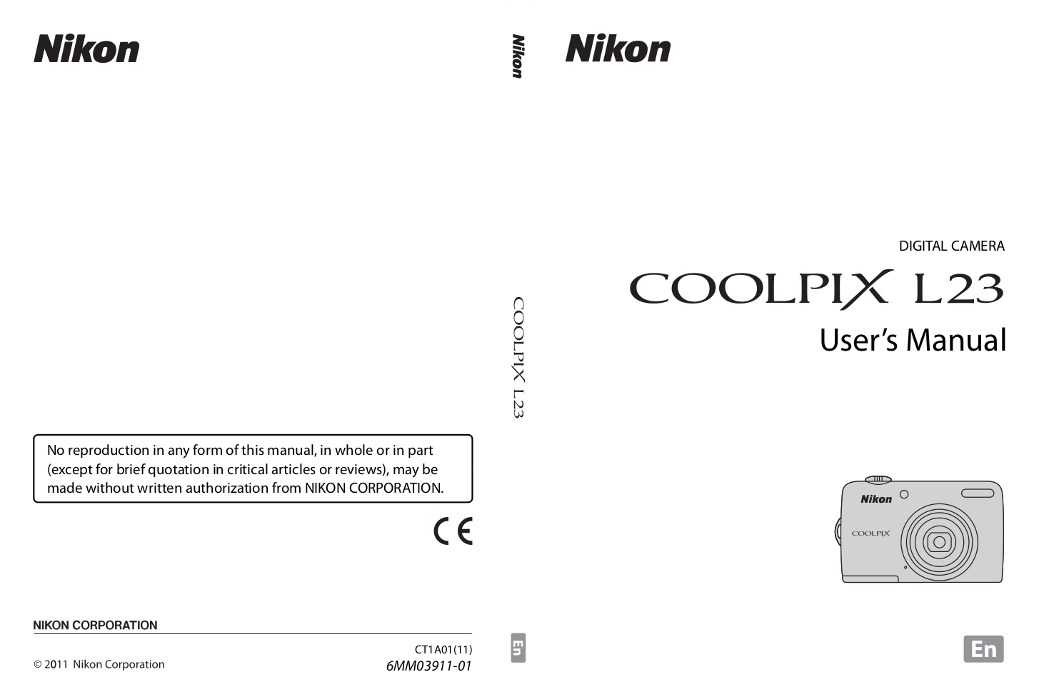 pdf for Nikon Other EN-MH1 Camera Rechargeable Battery manual
