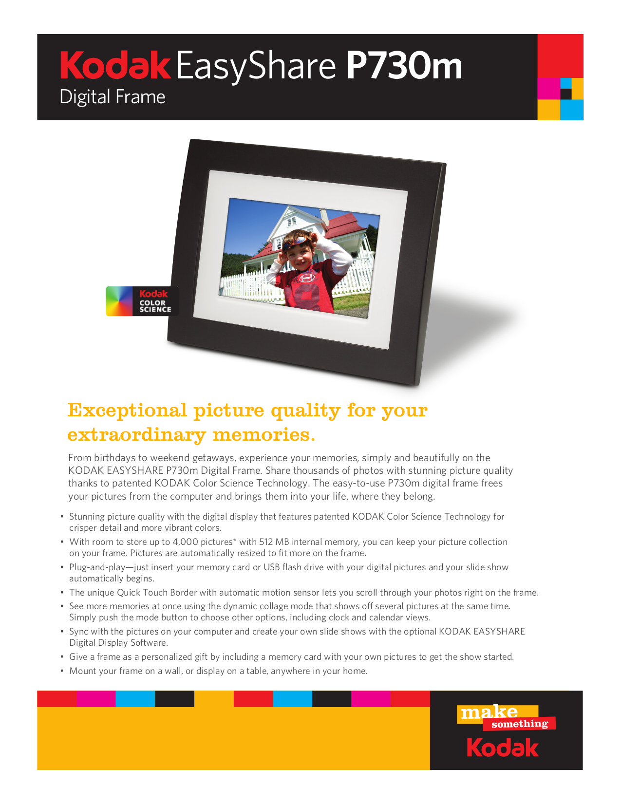 download free pdf for kodak easyshare p730 digital photo frame manual rh umlib com Kodak EasyShare SD Card Power Cord Kodak EasyShare P730