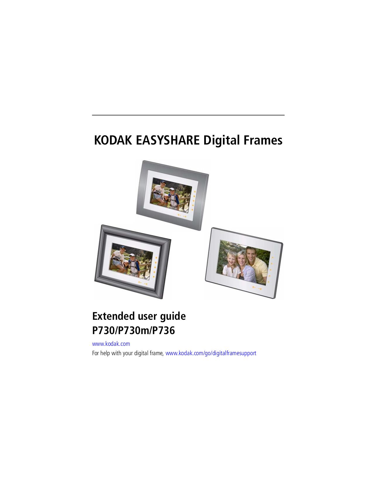 download free pdf for kodak easyshare p730 digital photo frame manual rh umlib com kodak easyshare p720 digital frame manual kodak pulse digital frame manual