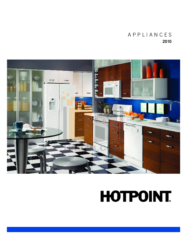 pdf for Hotpoint Range RGB524PEHWH manual