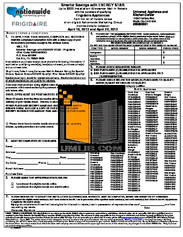 pdf for Frigidaire Range FFGC3025LS manual