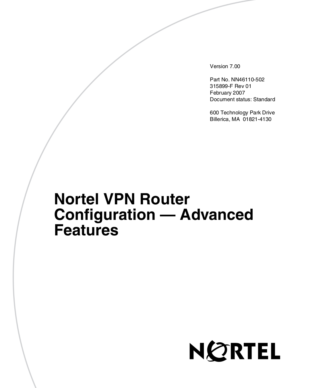 pdf for Nortel Router 1740 manual