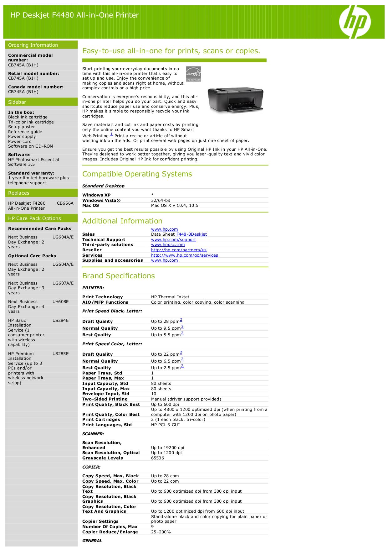 download free pdf for hp deskjet f4480 multifunction printer manual rh umlib com hp deskjet f4400 user manual hp deskjet f4480 instructions