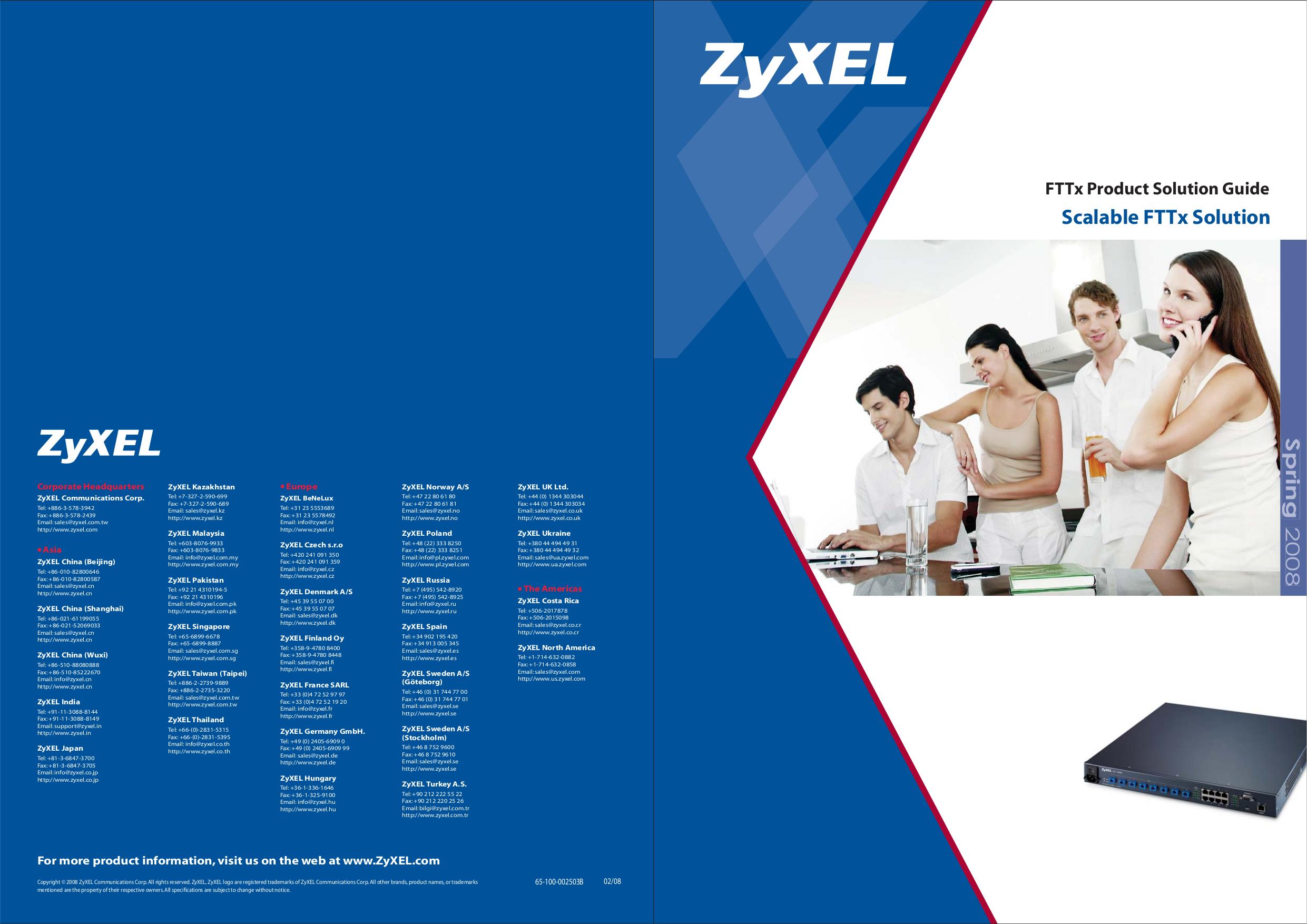 pdf for Zyxel Other P-870M-I1 V2 Modems manual