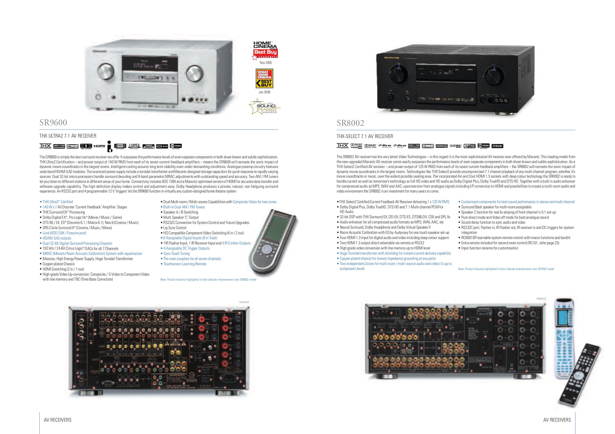 download free pdf for marantz sr9600 receiver manual rh umlib com Marantz SR9600 THX Ultra2 marantz sr9600 manual download