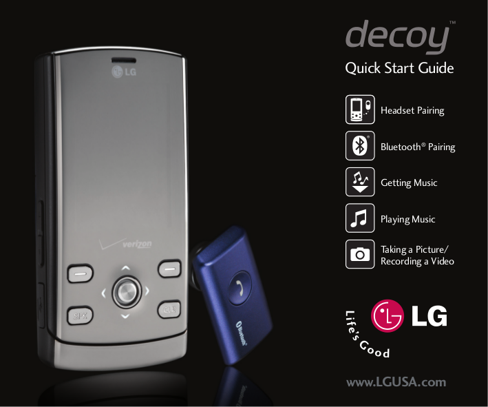download free pdf for lg decoy cell phone manual rh umlib com LG Chocolate Verizon LG Cell Phones