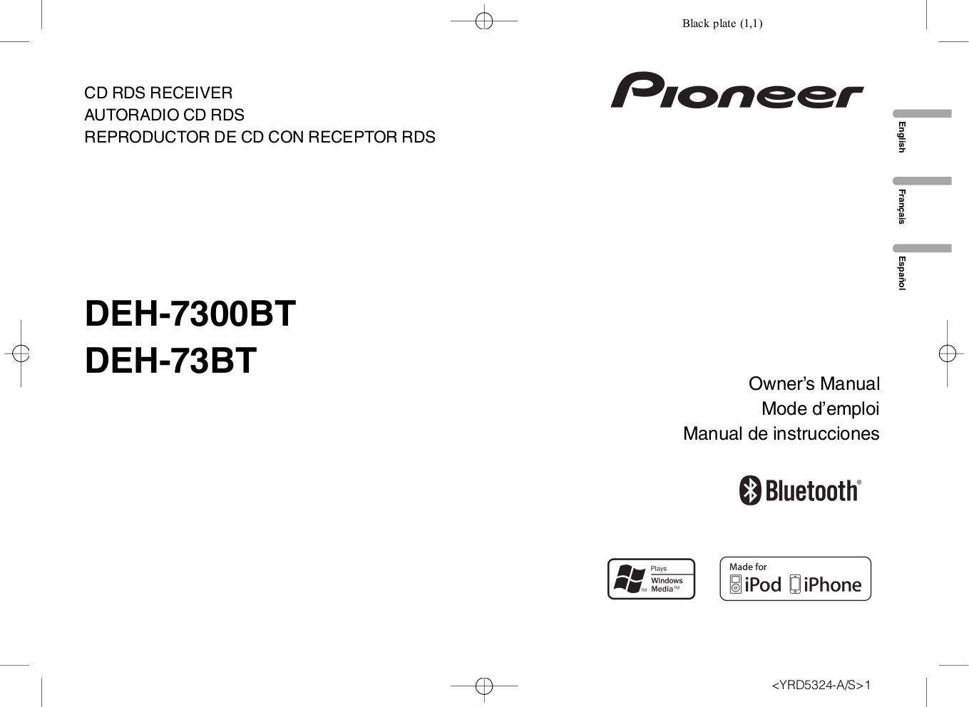 Pioneer Deh7300bt Manual - User Guide Manual That Easy-to-read •