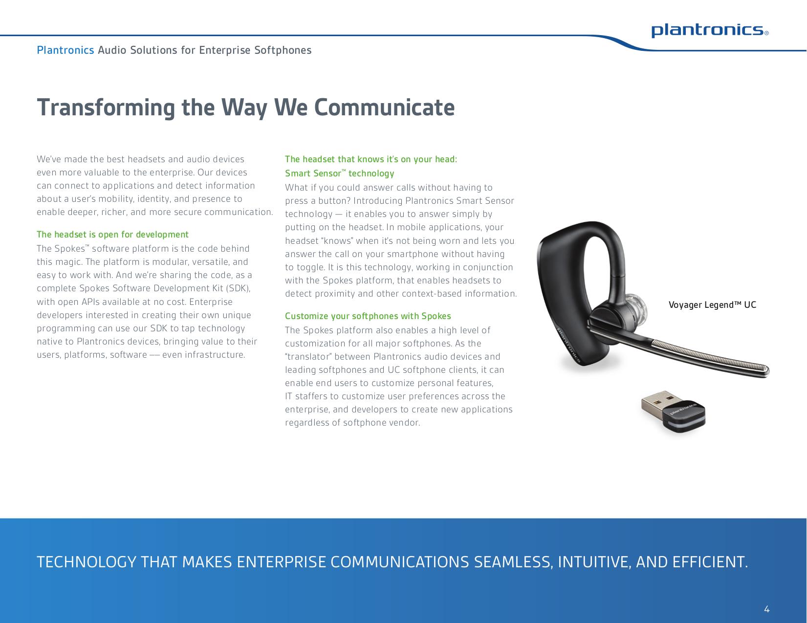 PDF manual for Plantronics Headset DSP-300