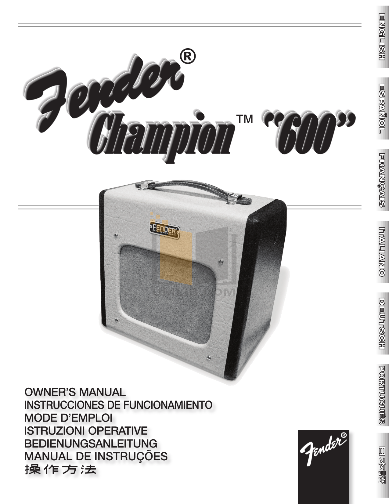 Champ Service Manual