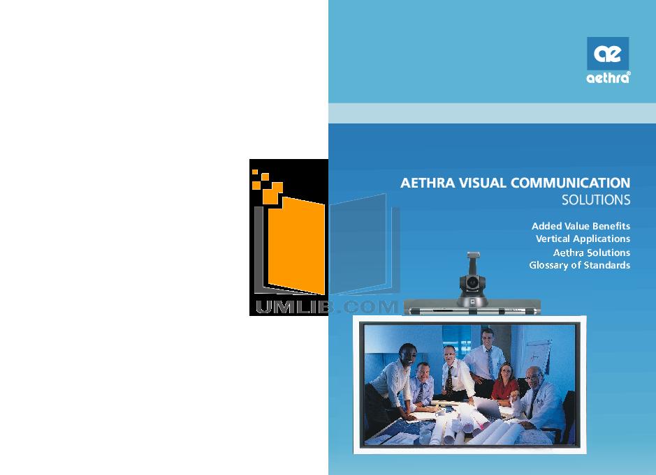 pdf for Aethra Receiver AVC8500 manual