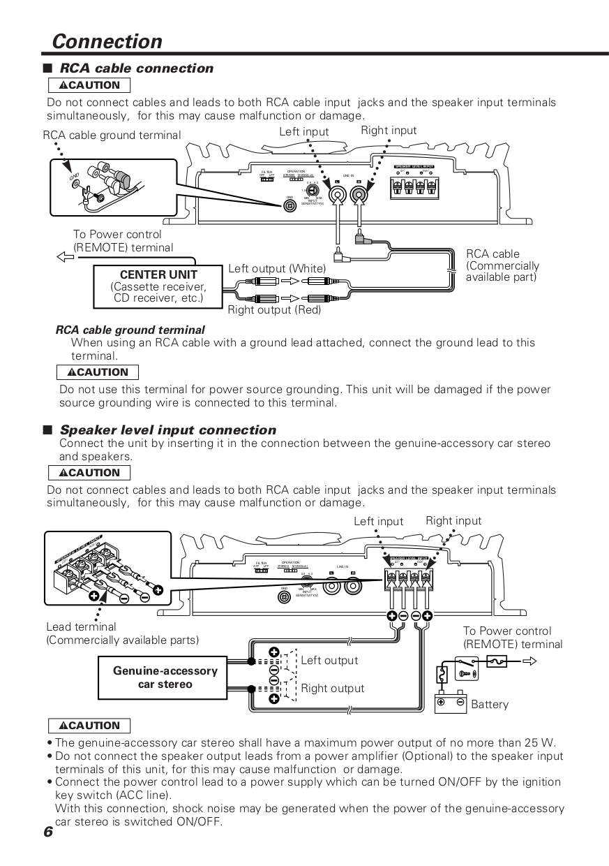 B64 1360 00.pdf 5 pdf manual for kenwood car amplifier kac 728s kenwood kac 7285 wiring diagram at virtualis.co