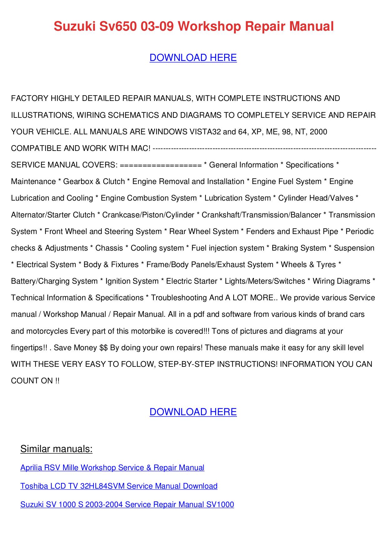 Pdf Manual For Onkyo Amp A Sv620 Aprilia Rsv Wiring Diagram Page Preview