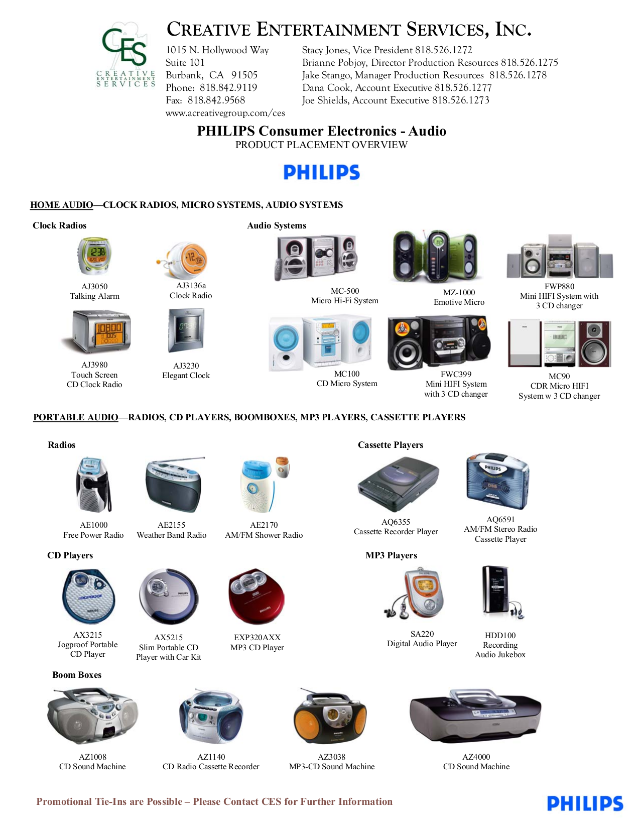 pdf for Philips Boombox AZ1140 manual
