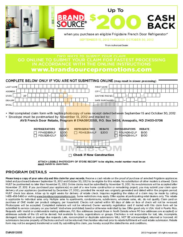 pdf for Frigidaire Refrigerator Gallery FGUN2642LF manual