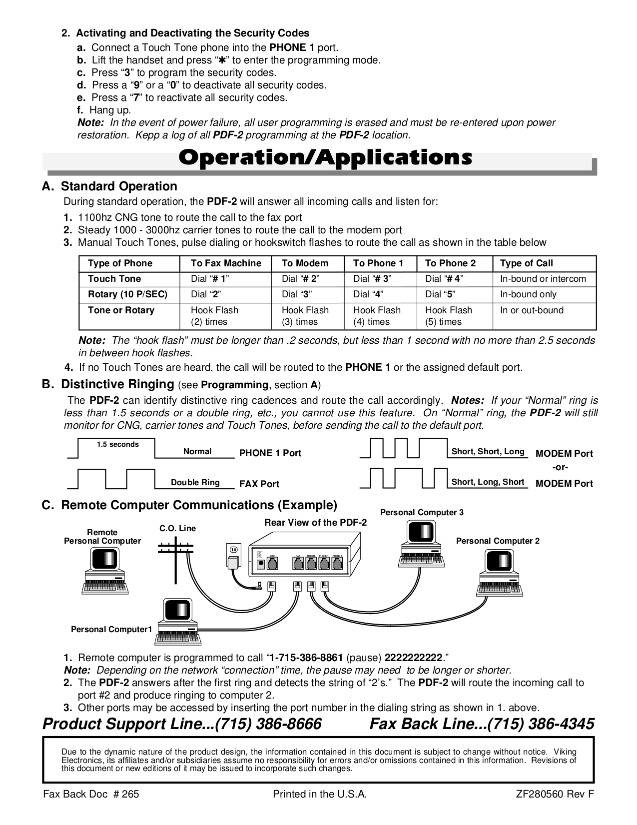 Viking Other PDF-2 Switching Systems pdf page preview