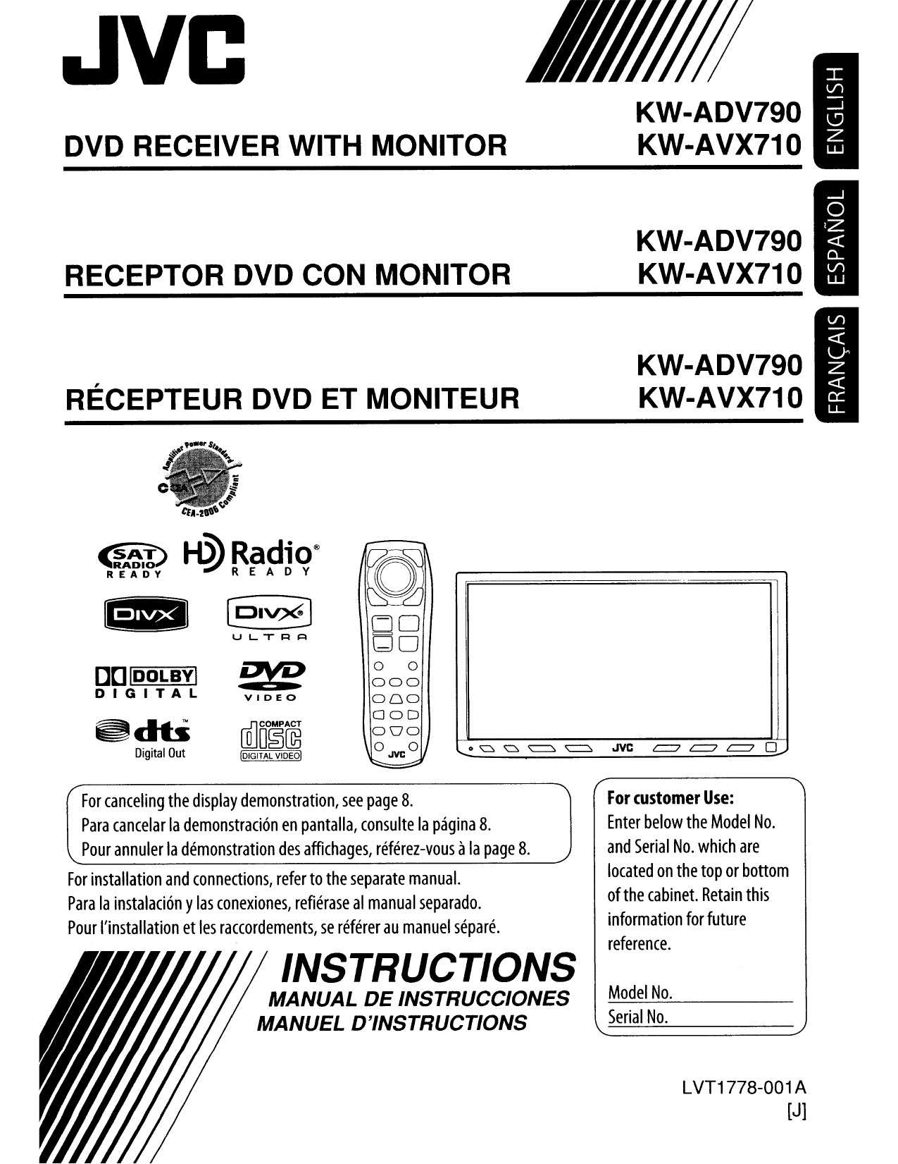 105avx710.pdf 0 download free pdf for jvc kw adv790 car video manual jvc kw-avx810 wiring diagram at fashall.co