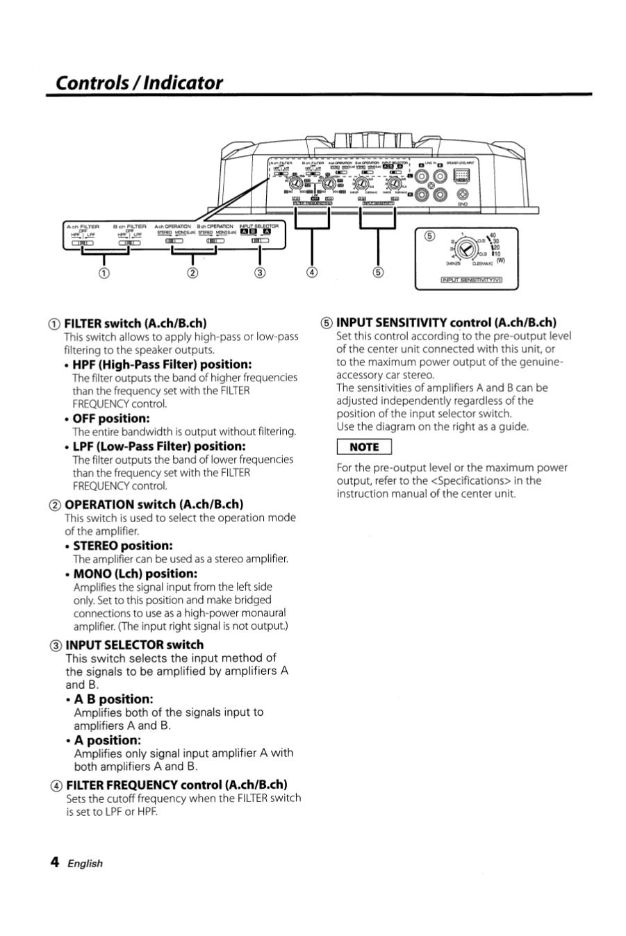 pdf manual for kenwood car amplifier kac 6402 rh umlib com Kenwood Amplifier 301T Kenwood KAC- 8405