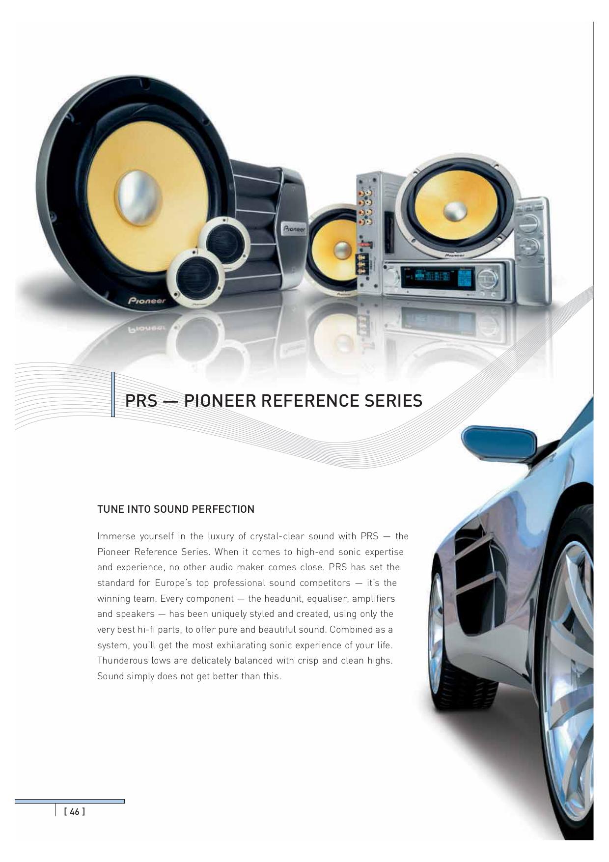 Pioneer deh-p6500 owners manual.