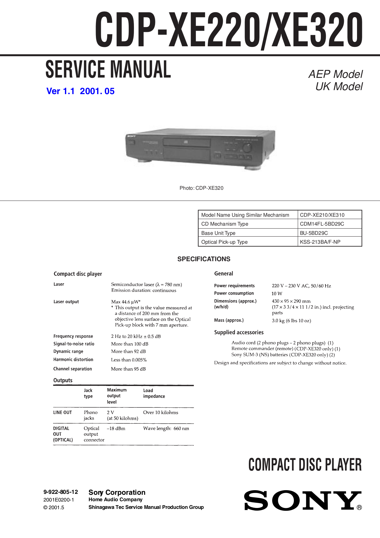 Download Free Pdf For Sony Cdp