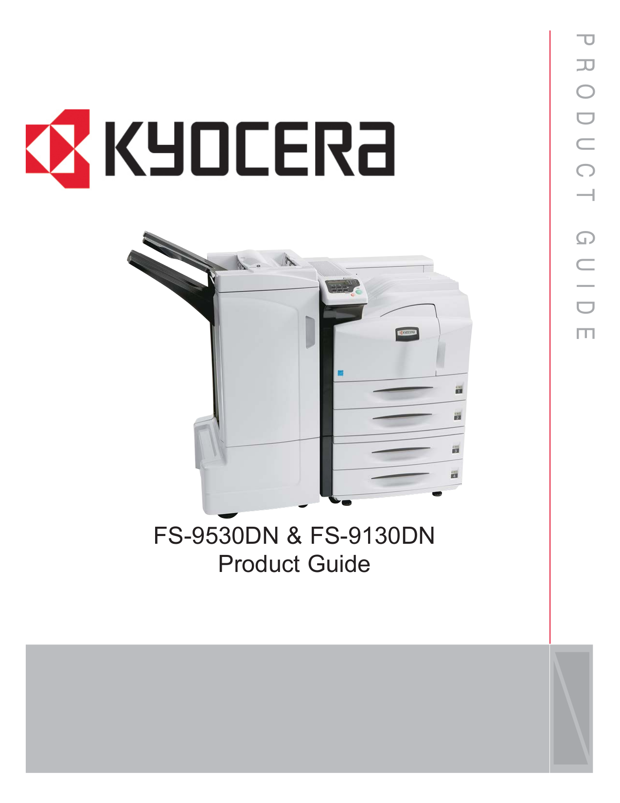 pdf for Kyocera Printer FS-9130dN manual